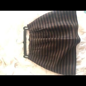 Madewell flare skirt